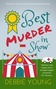 Rough cover design for Best Murder in Show