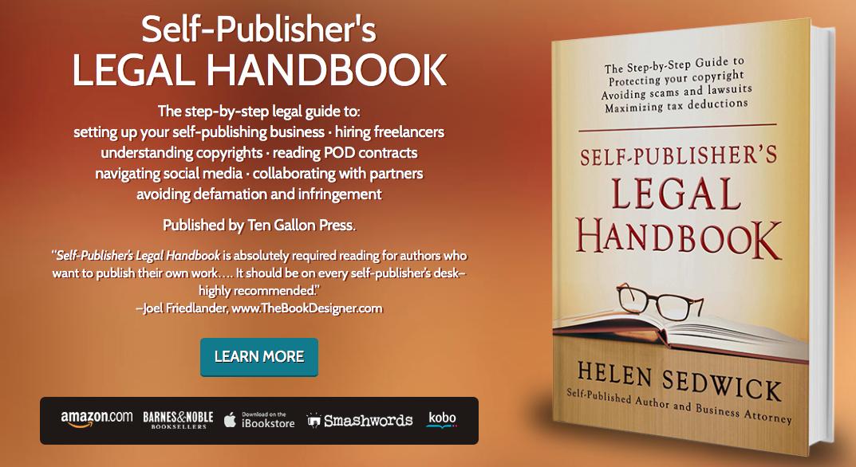 Helen Sedwick Self-Publisher's Legal Handbook