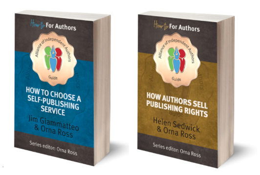 How to choose a self publishing service and how authors sell publishing rights orna ross book covers