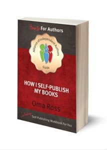 How I Self-Publish my books by Orna Ross
