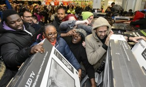 Black Friday: More than you bargain for (credit: The Guardian/photograph Ray Tang/REX)