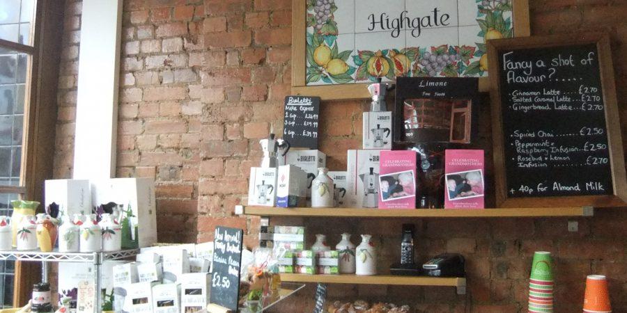 Book On Shelf In Limone Delicatessen