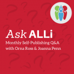 Ask ALLi Event Square Logo with Pen