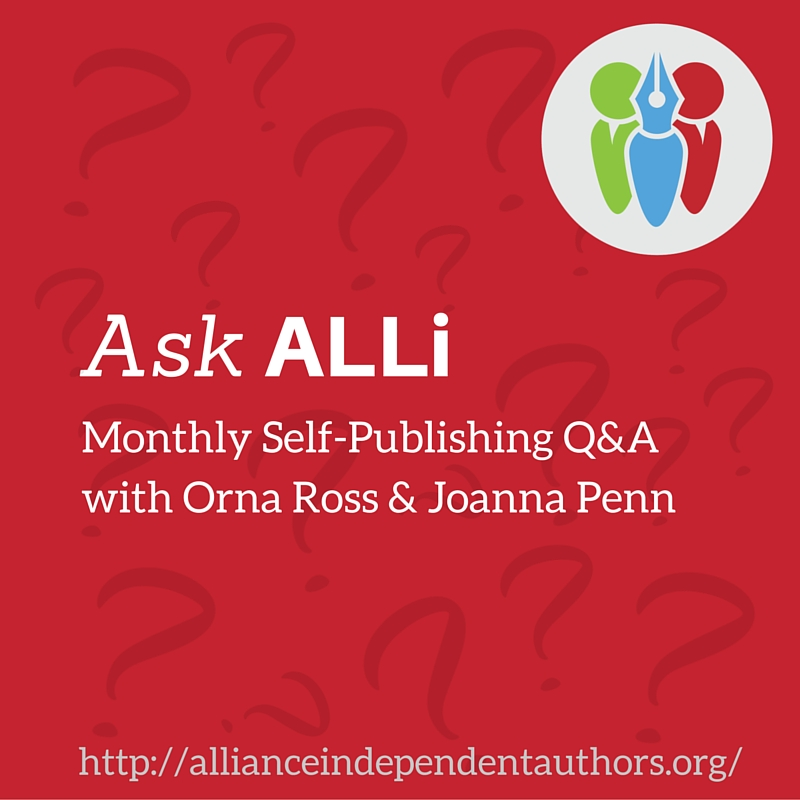 Ask ALLi August Self-Publishing Author Q&A Video & Podcast