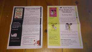 Photo of two AI sheets side by side