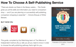 How to Choose a Self Publishing Service