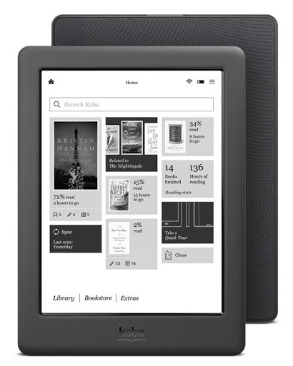 Kobo Glo HD Indie Author Fringe Competition Prize