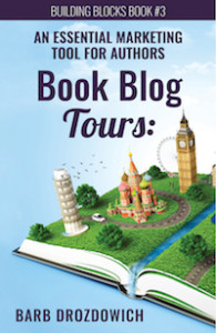 Cover of Barb's book about blog tours