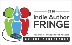 Indie Author Fringe 2016 Logo