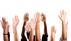 Hands up for diversity (Image: LinkedIn)