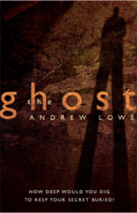 Ghost Cover by Andrew Lowe Indie Author Fringe Giveaway