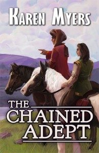 Cover of The Chained Adept
