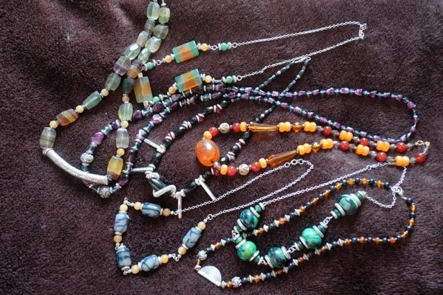 Completed Strings Of Beads