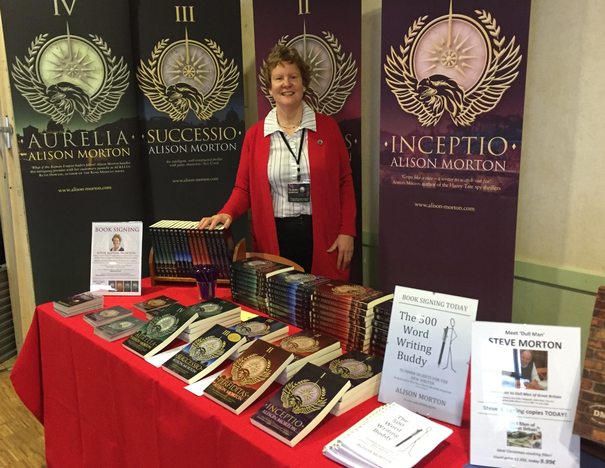 How To Set Up And Run An Author Exhibition Stand