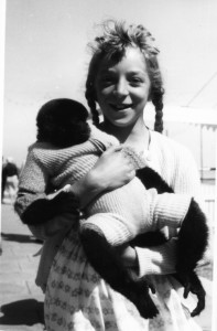 Photo of Sue as a child