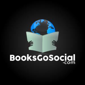 Books Go Social Logo from Laurence