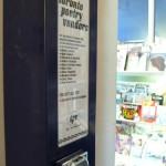Toronto Poetry Vendors' dispensing machine
