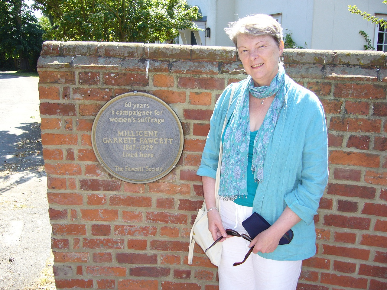 Photo Of Lucienne Boyce By Historic Blue Plaque