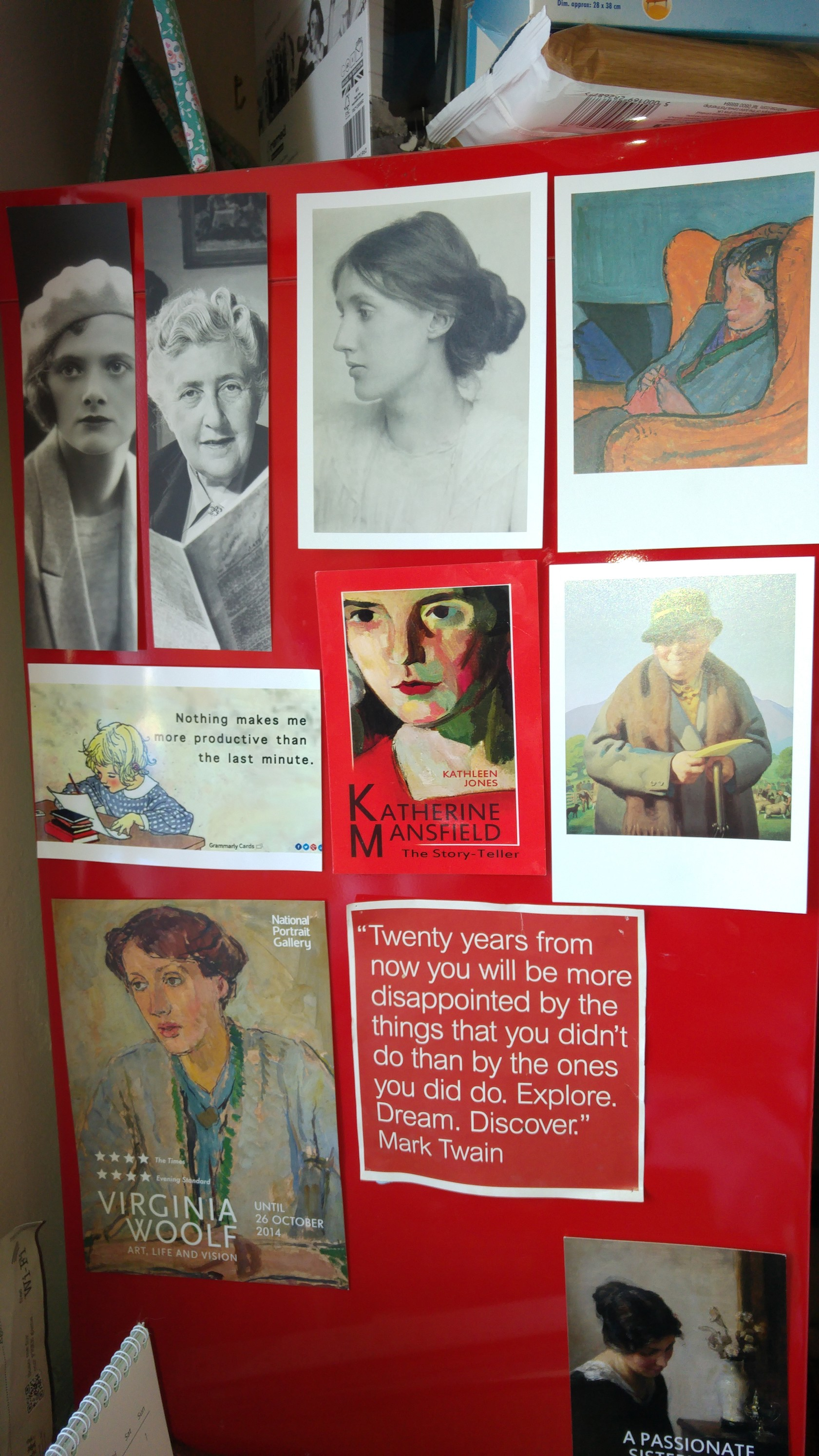 Array Of Photos And Quotes By Famous Authors