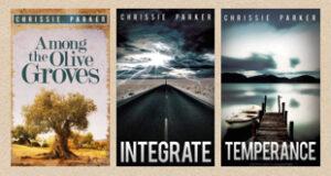 Cover shots of three novels