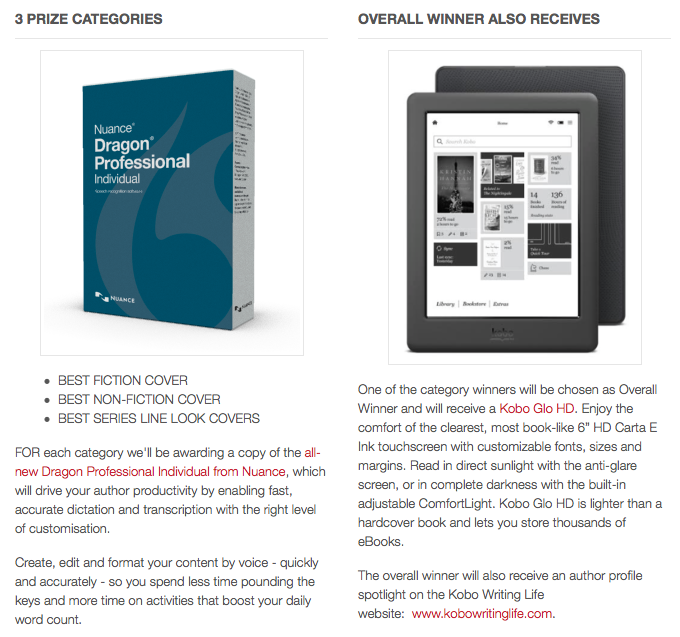 Cover Competition Prizes