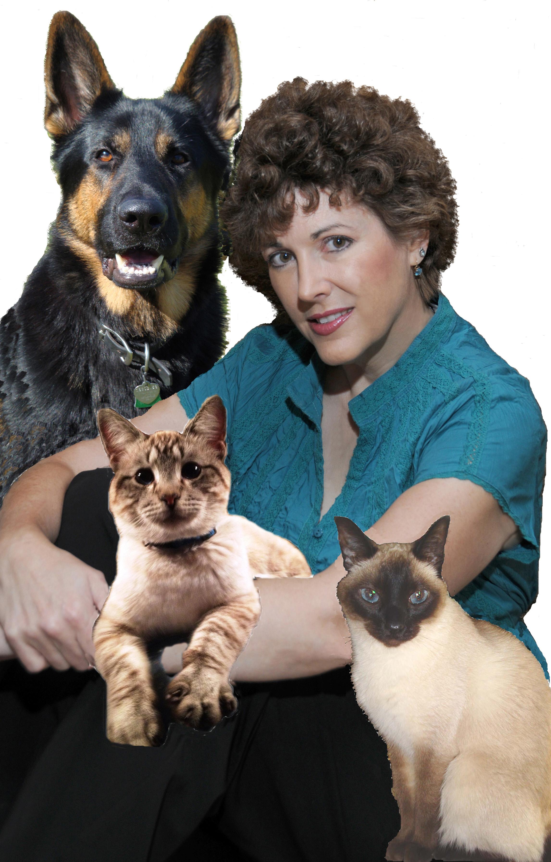 Amy Shojai With Animals