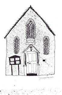 Sketch of the Methodist Hall