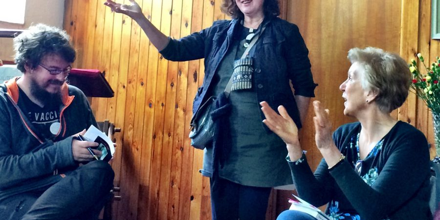 Photo Of Debbie Addressing An Audience