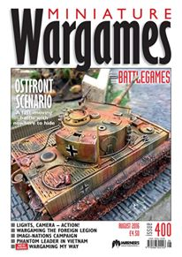 Cover of Wargames magazine