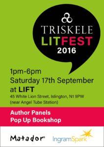 Triskele Lit Fest advert