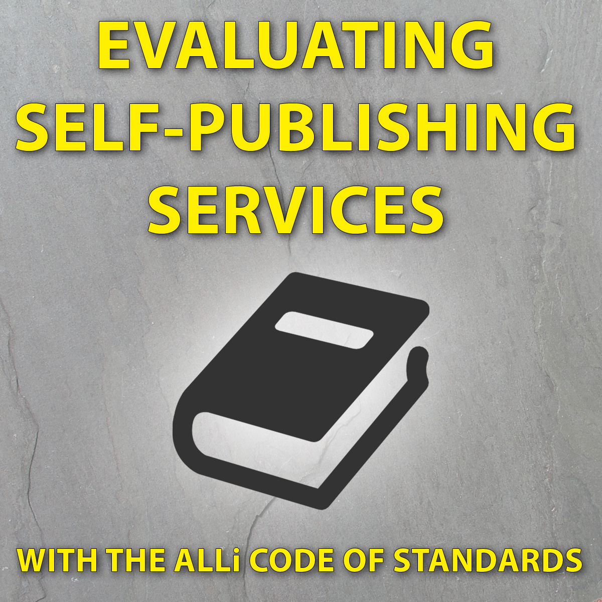 Evaluating Self-Publishing Services With ALLi's Code Of Standards