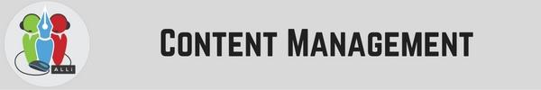 Author Tools: Content Management Jay Artale