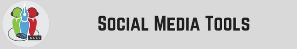 Author Tools: Social Media Tools Jay Artale