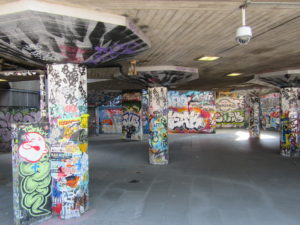 London's Southbank Undercroft, one of the UK's most iconic celebrations of indie culture.