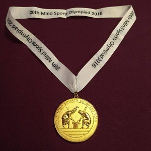 This medal's mine, but the Nine Dots Award is a fabulous chance to lay your hands on a far more glittering prize.
