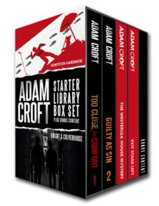 Adam Croft 4 Book Library Starter