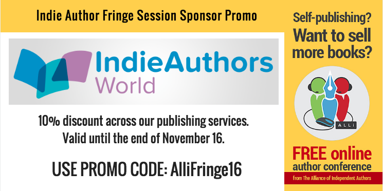 Indie Authors World 10% promo