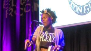 Vanessa Kisuule, 2015 UK poetry slam champion. This week we're celebrating the unseen side of spoken word.