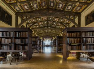 The Bodleian's Duke Humfrey Library in Oxford