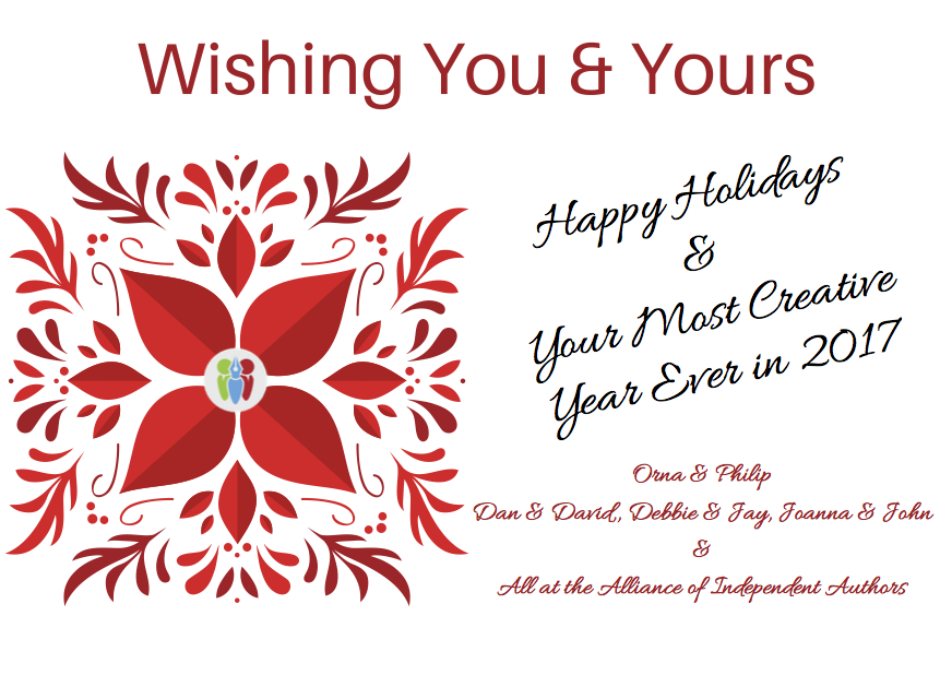 Happy Holidays To All Self-Publishing Authors
