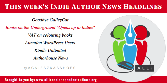 This week's Indie Author Fringe News brought to you by the Alliance of Independent Authors