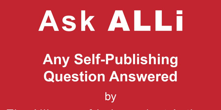 Ask ALLi Self-Publishing Member Q&A With Orna Ross & Paul Teague