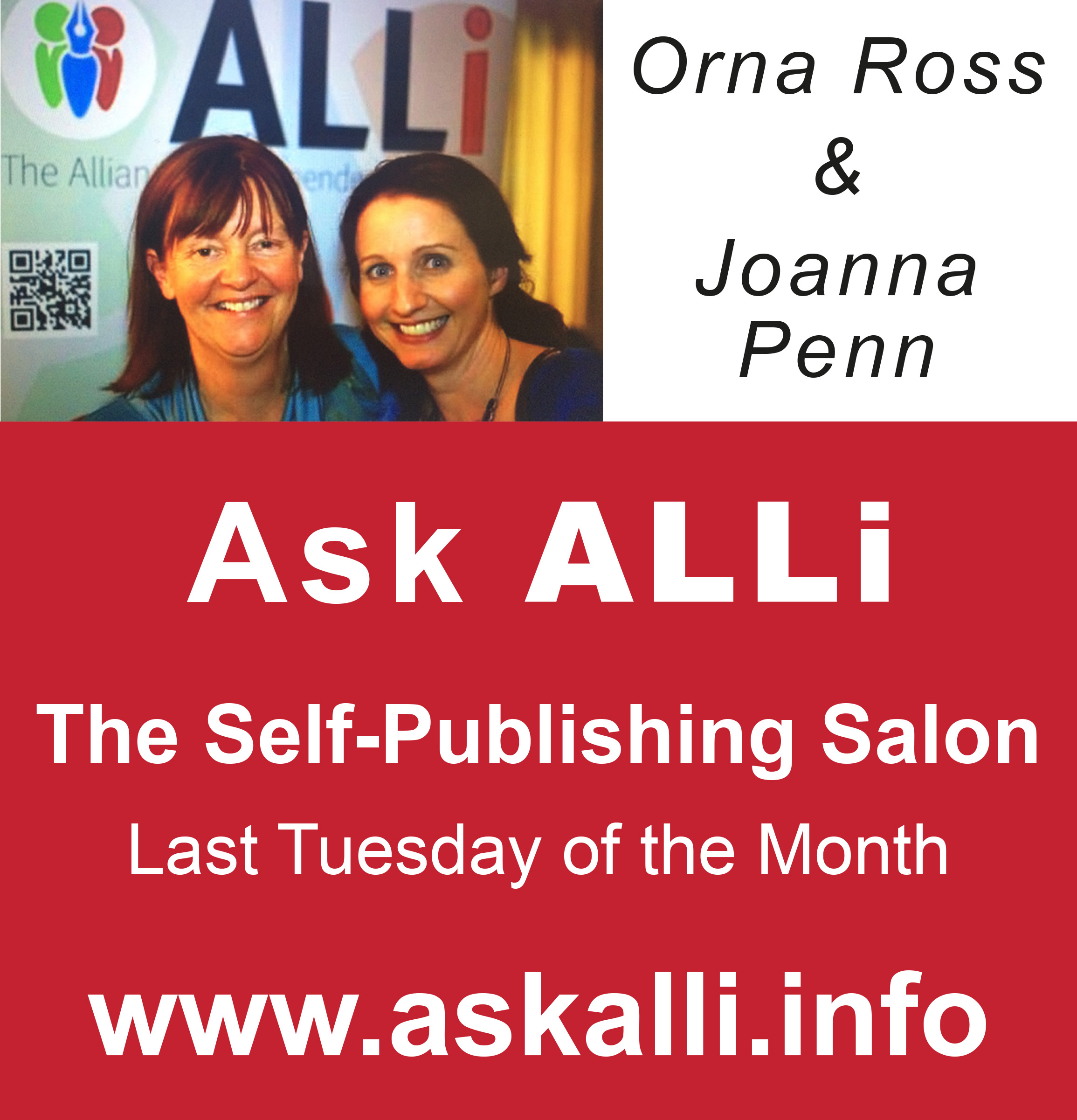 Self-Publishing Salon With Orna Ross & Joanna Penn: Video, Podcast & Event Recap