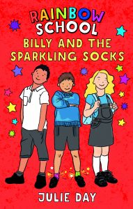 Cover of Billy and the Sparkling Socks by Julie Day