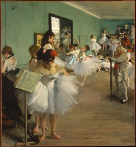 The Dance Class (Degas)