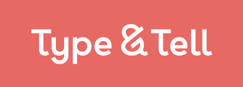 Type & Tell logo