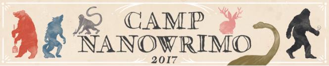 CampNaNoWriMo 2017 banner