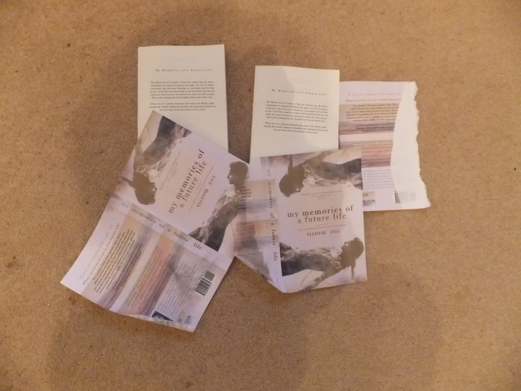 Photo of damaged books