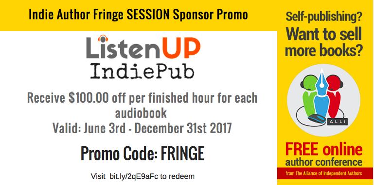 ListenUp IndiePub IAF promo card