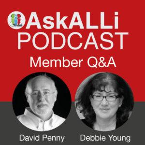 AskALLi Podcast Member Q&A Logo